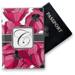 Tulips Vinyl Passport Holder (Personalized)