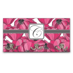 Tulips Wall Mounted Coat Rack (Personalized)