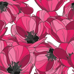 Tulips Wallpaper & Surface Covering