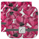 Tulips Facecloth / Wash Cloth (Personalized)