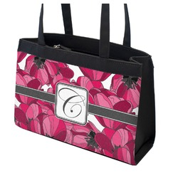 Tulips Zippered Everyday Tote (Personalized)
