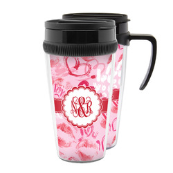Lips n Hearts Acrylic Travel Mugs (Personalized)