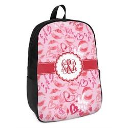 Lips n Hearts Kids Backpack (Personalized)