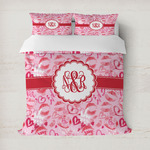 Lips n Hearts Duvet Cover (Personalized)
