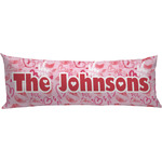 Lips n Hearts Body Pillow Case (Personalized)