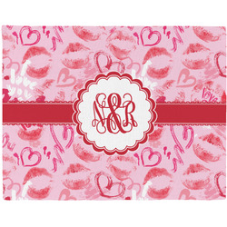 Lips n Hearts Placemat (Fabric) (Personalized)