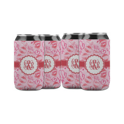 Lips n Hearts Can Sleeve (12 oz) (Personalized)