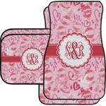 Lips n Hearts Car Floor Mats (Personalized)
