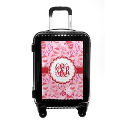 Lips n Hearts Carry On Hard Shell Suitcase (Personalized)