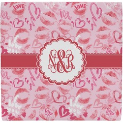Lips n Hearts Ceramic Tile Hot Pad (Personalized)