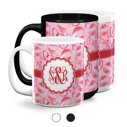 Lips n Hearts Coffee Mugs (Personalized)