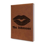 Lips n Hearts Leatherette Journal (Personalized)