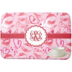 Lips n Hearts Dish Drying Mat (Personalized)