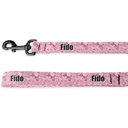 Lips n Hearts Deluxe Dog Leash (Personalized)