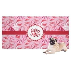 Lips n Hearts Pet Towel (Personalized)