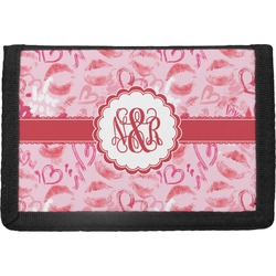 Lips n Hearts Trifold Wallet (Personalized)
