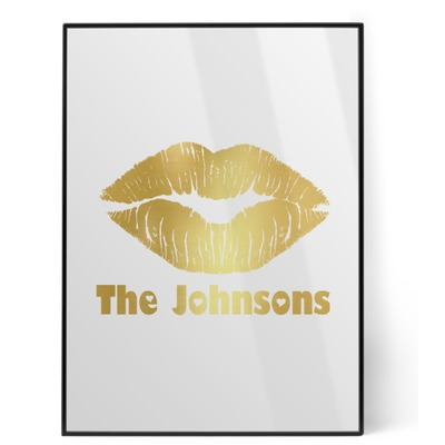 Lips n Hearts Foil Print (Personalized)