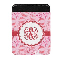 Lips n Hearts Genuine Leather Money Clip (Personalized)