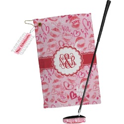 Lips n Hearts Golf Towel Gift Set (Personalized)