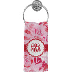 Lips n Hearts Hand Towel - Full Print (Personalized)