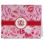 Lips n Hearts Kitchen Towel - Full Print (Personalized)