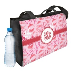 Lips n Hearts Ladies Workout Bag (Personalized)
