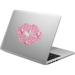Lips n Hearts Laptop Decal (Personalized)