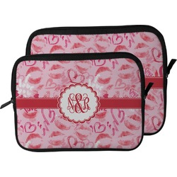 Lips n Hearts Laptop Sleeve / Case (Personalized)