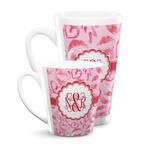 Lips n Hearts Latte Mug (Personalized)