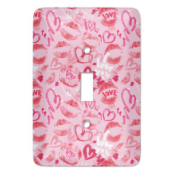 Lips n Hearts Light Switch Covers - Multiple Toggle Options Available (Personalized)