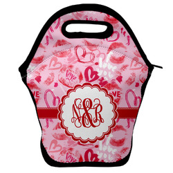 Lips n Hearts Lunch Bag (Personalized)