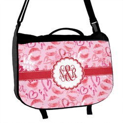 Lips n Hearts Messenger Bag (Personalized)
