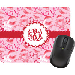 Lips n Hearts Mouse Pad (Personalized)