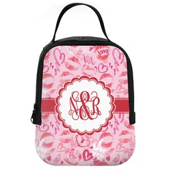 Lips n Hearts Neoprene Lunch Tote (Personalized)