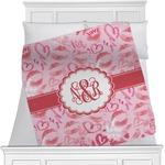 Lips n Hearts Minky Blanket (Personalized)