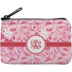 Lips n Hearts Rectangular Coin Purse (Personalized)