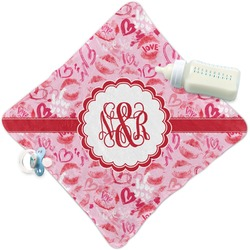 Lips n Hearts Security Blanket (Personalized)