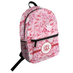 Lips n Hearts Student Backpack (Personalized)