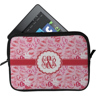 Lips n Hearts Tablet Case / Sleeve (Personalized)