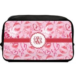 Lips n Hearts Toiletry Bag / Dopp Kit (Personalized)