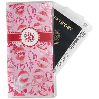 Lips n Hearts Travel Document Holder