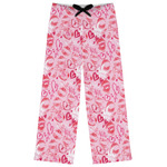 Lips n Hearts Womens Pajama Pants (Personalized)