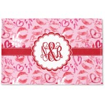 Lips n Hearts Woven Mat (Personalized)