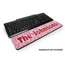 Lips n Hearts Keyboard Wrist Rest (Personalized)