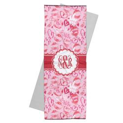 Lips n Hearts Yoga Mat Towel (Personalized)