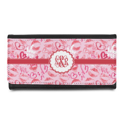 Lips n Hearts Leatherette Ladies Wallet (Personalized)