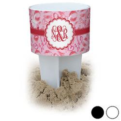 Lips n Hearts Beach Spiker Drink Holder (Personalized)