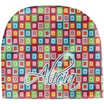 Retro Squares Baby Hat (Beanie) (Personalized)