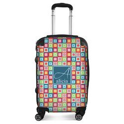 Retro Squares Suitcase (Personalized)