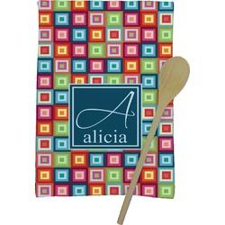Retro Squares Kitchen Towel - Full Print (Personalized)